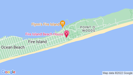 The Fire Island Beach House Map