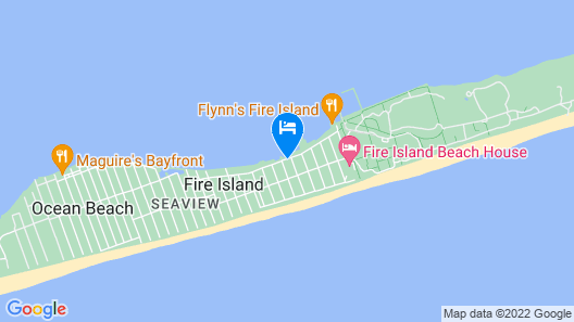 2021 Ocean Bay Park Booking Now- Beautiful Family Home Map