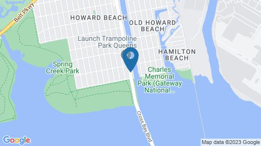 Surfside Motel Map