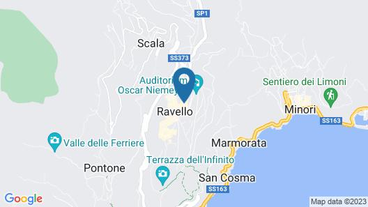 Hotel Villa Fraulo Map