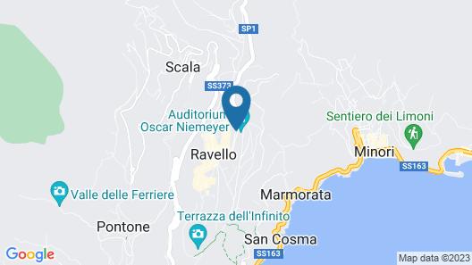 Caruso, A Belmond Hotel, Amalfi Coast Map
