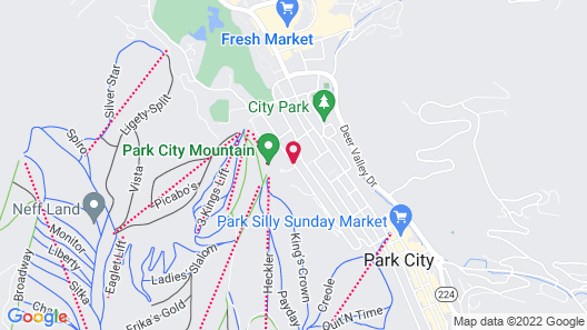 Marriott's MountainSide at Park City Map