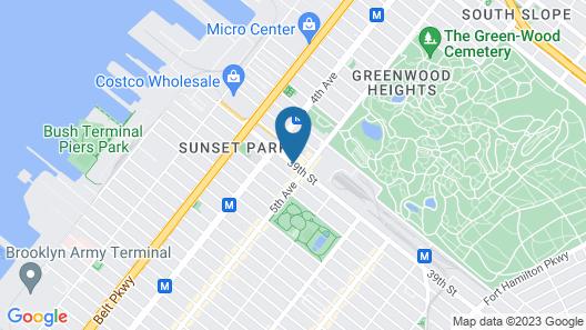Wyndham Garden Brooklyn Sunset Park Map