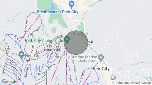 Acorn Chalet #1 - Walk to PC ski Base! 2BD Map