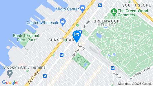 Days Inn by Wyndham Brooklyn Map