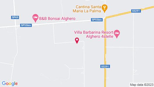 Villa Arzilla Sardegna Map