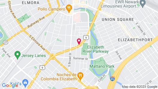 Rest Inn - Elizabeth Map