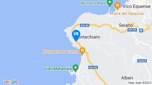Hotel Mega Mare Map