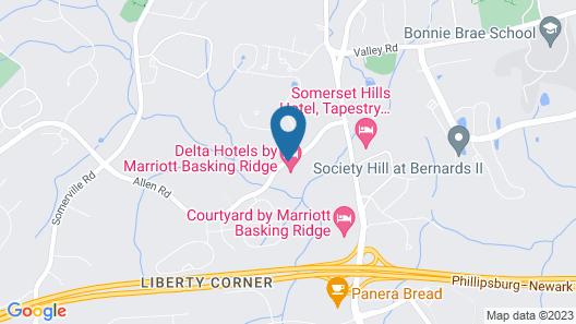 Delta Hotels by Marriott Basking Ridge Map