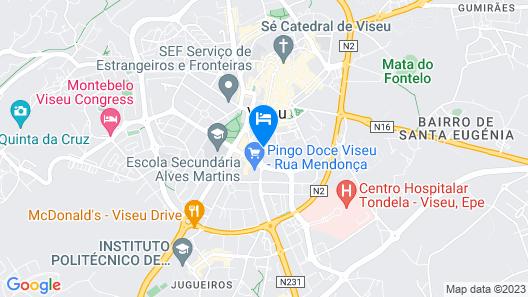 Pousada de Viseu - Historic Hotel Map