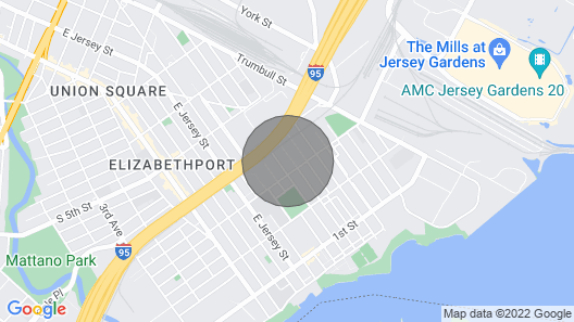 Private Room With Bathroom Near Ewr/nyc Room 1 Map