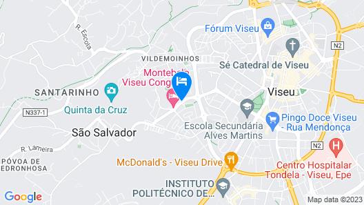 Montebelo Viseu Congress Hotel Map