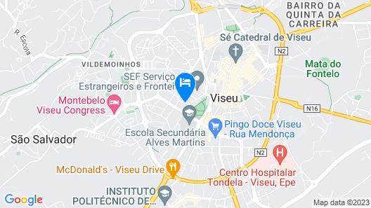 Hotel Moinho de Vento Map