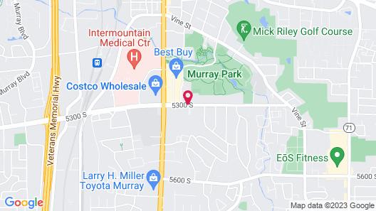 Residence Inn Salt Lake City Murray Map