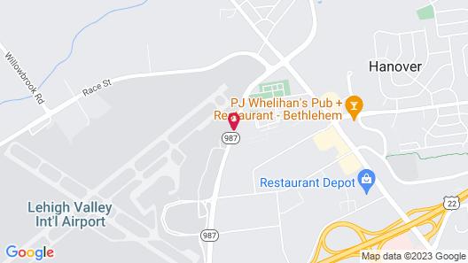 Days Hotel by Wyndham Allentown Airport / Lehigh Valley Map