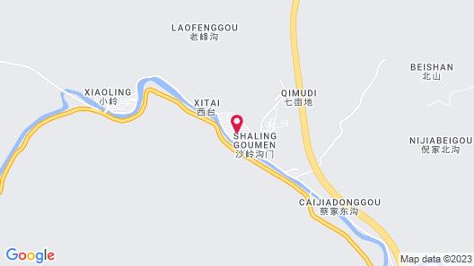 Tranquil Retreat Resort at Great Wall Map