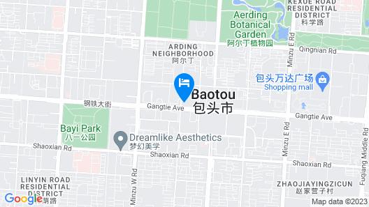 Baotou Marriott Hotel Map