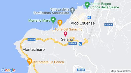 Grand Hotel Angiolieri Map