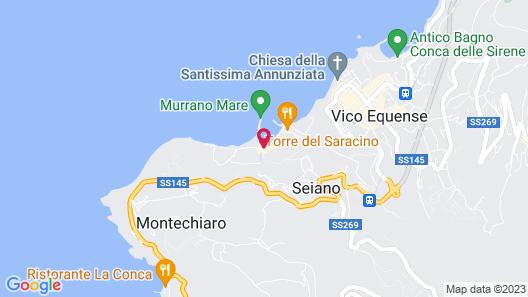 Le Ancore Map