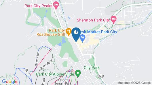 DoubleTree by Hilton Hotel Park City - The Yarrow Map