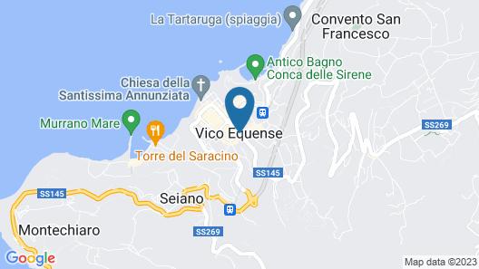 Villa Ketty Map