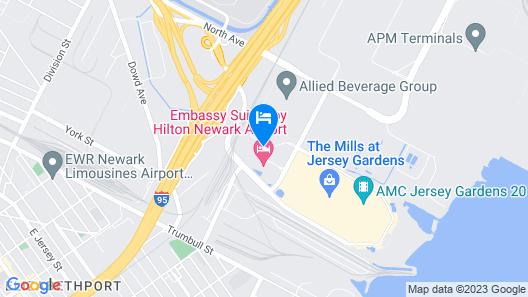Residence Inn by Marriott Newark Elizabeth/Liberty International Airport Map