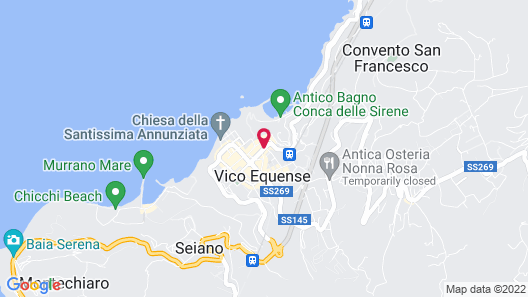 Cubo Apartments Map