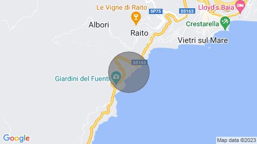 Beach House Amalfi Coast Map