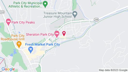 Park Plaza Resort Park City a Ramada by Wyndham Map