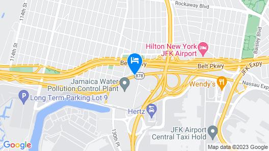 Comfort Inn JFK Airport Map