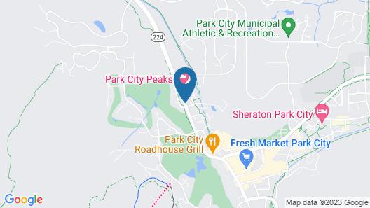 Park City Peaks Hotel Map