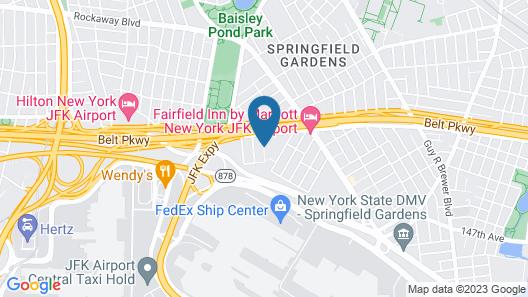 Days Inn by Wyndham Jamaica / JFK Airport Map