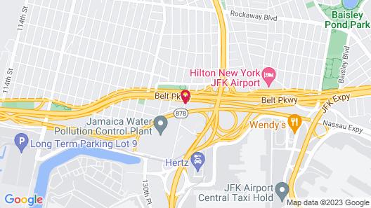 Hilton Garden Inn Queens/JFK Airport Map