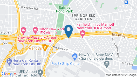 Holiday Inn Express Kennedy Airport, an IHG Hotel Map