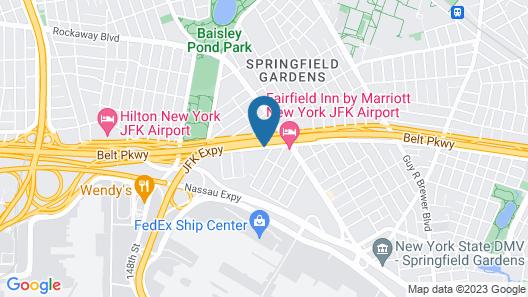 JFK Inn Map