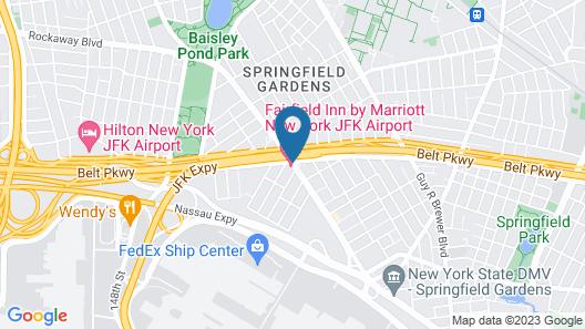 Fairfield Inn by Marriott JFK Airport Map