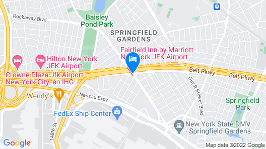 Fairfield Inn by Marriott JFK Airport Map