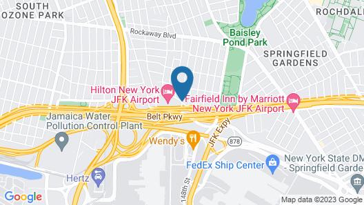 Courtyard by Marriott New York JFK Airport Map