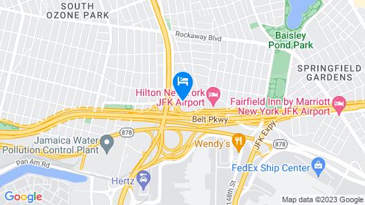 Crowne Plaza JFK Airport New York City, an IHG Hotel Map