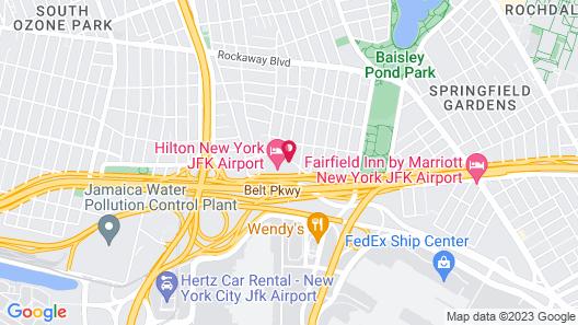 Hampton Inn NY-JFK Map
