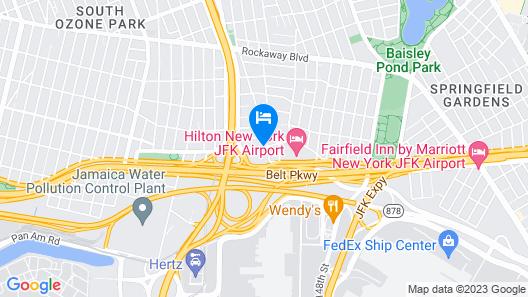 Radisson Hotel JFK Airport Map