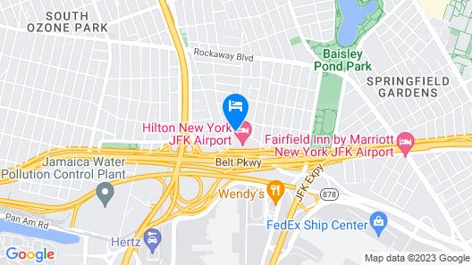 Hilton New York JFK Airport Map
