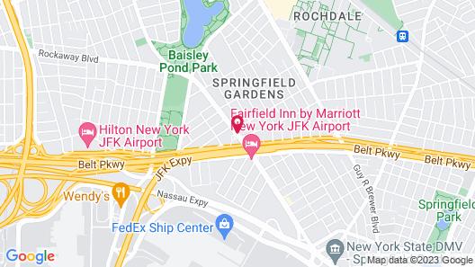 OYO Hotel JFK Airport Map