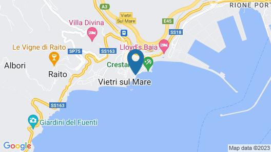 Hotel La Lucertola Map