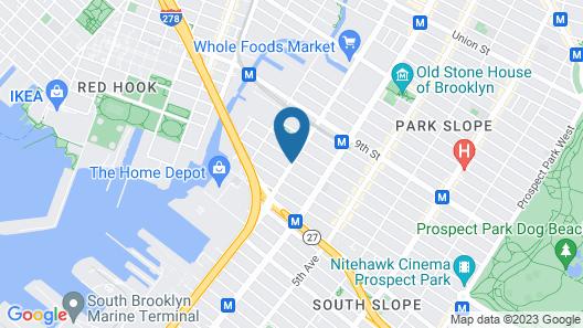 La Quinta Inn & Suites by Wyndham Brooklyn Downtown Map