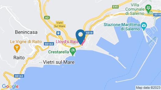 Lloyd's Baia Hotel Map