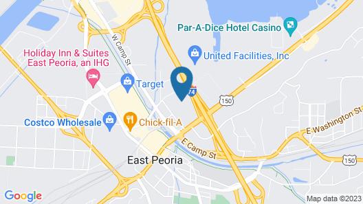 Best Western Plus Peoria Map
