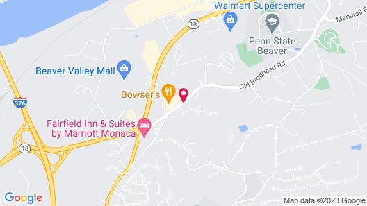 The Inn Forza Map