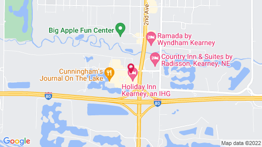 Holiday Inn Kearney Map