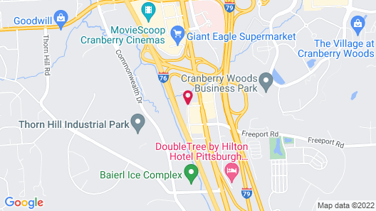 Hyatt Place Pittsburgh Cranberry Map
